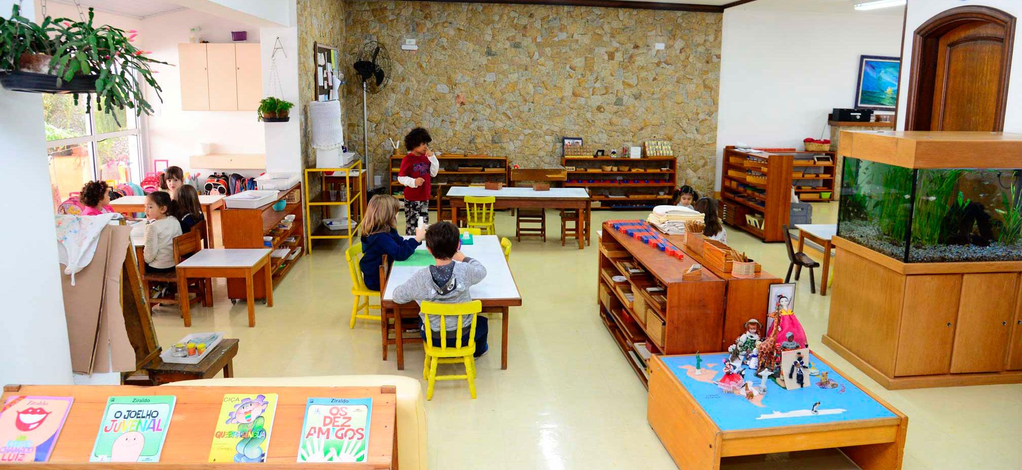 Calendario Montessori.Prima Montessori Escola Montessori De Sao Paulo